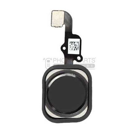 Picture of iPhone 6s/6s Plus OEM Complete Home Button with Flex [Black]