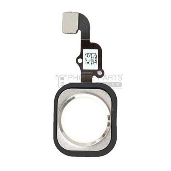 Picture of iPhone 6s/6s Plus OEM Complete Home Button with Flex [White]
