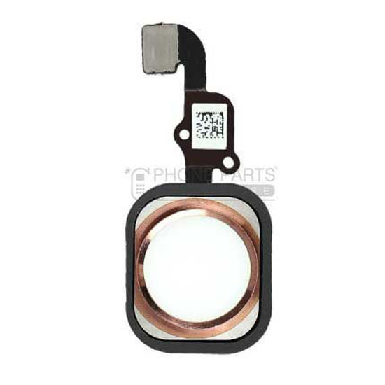 Picture of iPhone 6S/6s Plus OEM Complete Home Button with Flex [Rose Gold]