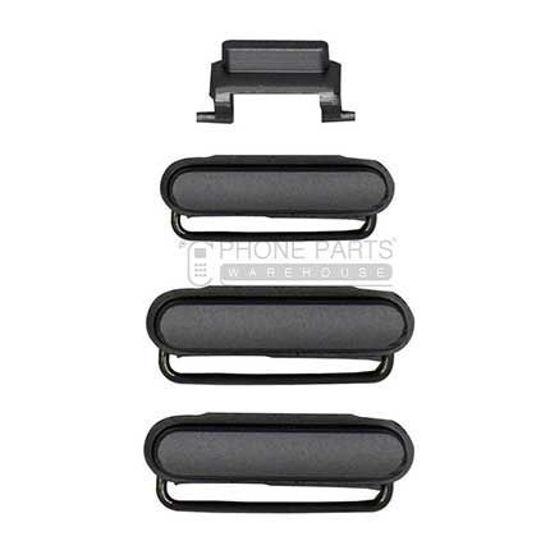 Picture of iPhone 6S/6S Plus Compatible 3 Piece Button Set [Black]