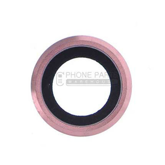 Picture of iPhone 6 Plus / 6S Plus  Compatible Back Camera Glass Lens With Cover Ring [Rose Gold]