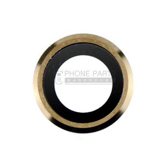 Picture of iPhone 6 Plus / 6S Plus Compatible Back Camera Glass Lens With Cover Ring [Gold]