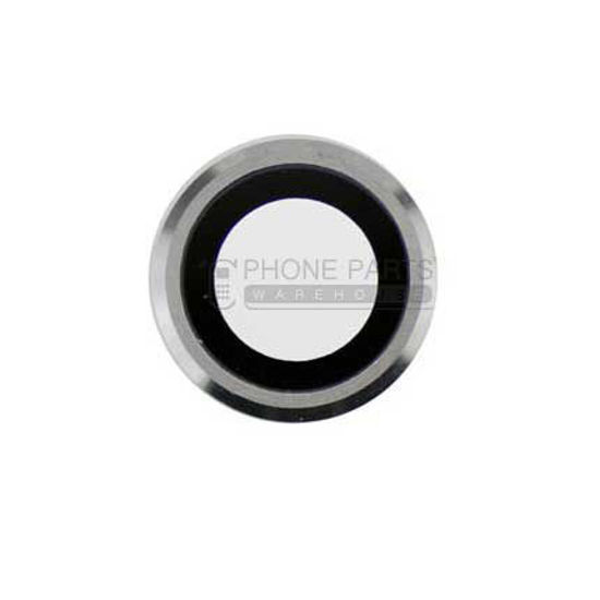 Picture of iPhone 6S Compatible Back Camera Glass Lens With Cover Ring [White]