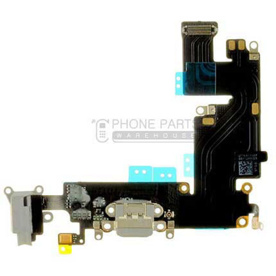Picture of iPhone 6 Plus Compatible Charge Port & Audio Flex Cable [Grey]