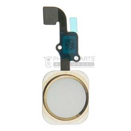 Picture of iPhone 6/6 Plus OEM Complete Home Button with Flex [Gold]
