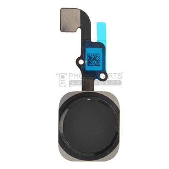 Picture of iPhone 6/6 Plus OEM Complete Home Button with Flex [Black]