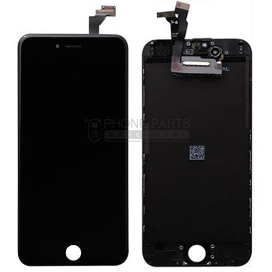 Picture of iPhone 6 Genuine LCD Screen With Parts  [Grade-A Tested Parts Come From 14 Days Used Phone] Black