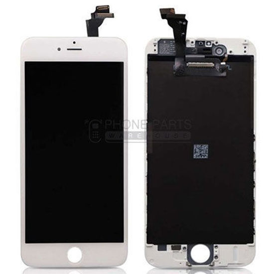 Picture of iPhone 6 Genuine LCD Screen With Parts  [Grade-A Tested Parts Come From 14 Days Used Phone] White