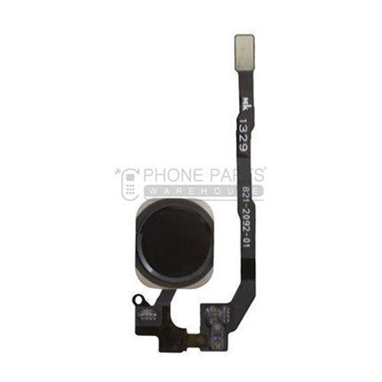 Picture of iPhone 5S/SE OEM Complete Home Button Flex - (Black)