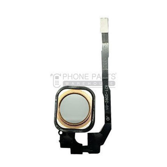 Picture of iPhone 5S/SE OEM Complete Home Button Flex - Rose Gold