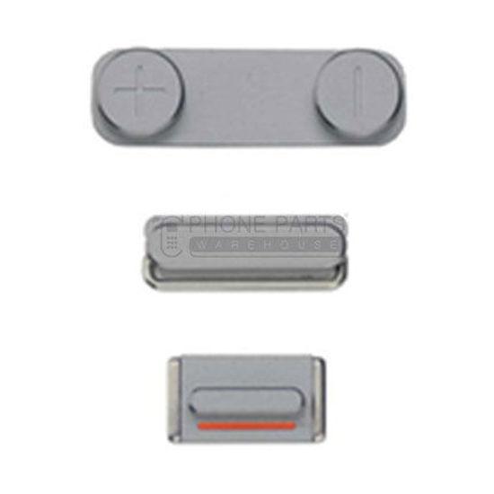 Picture of iPhone SE Compatible 3 Piece Button Set Black