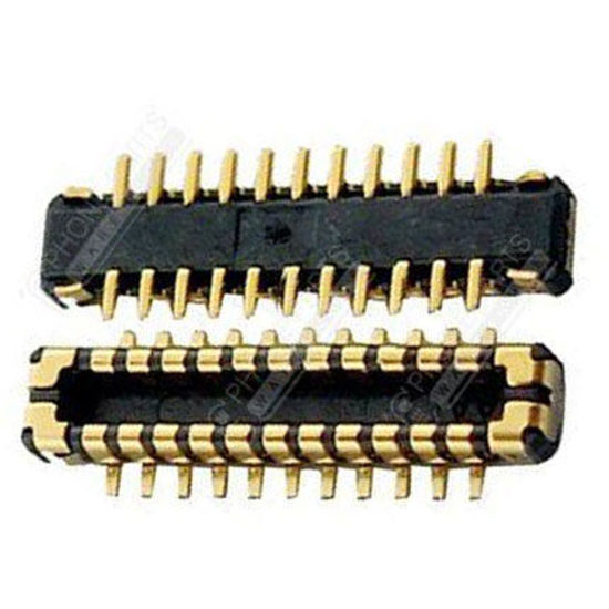 Picture of iPhone 5S Compatible LCD Connector 2 Piece Set