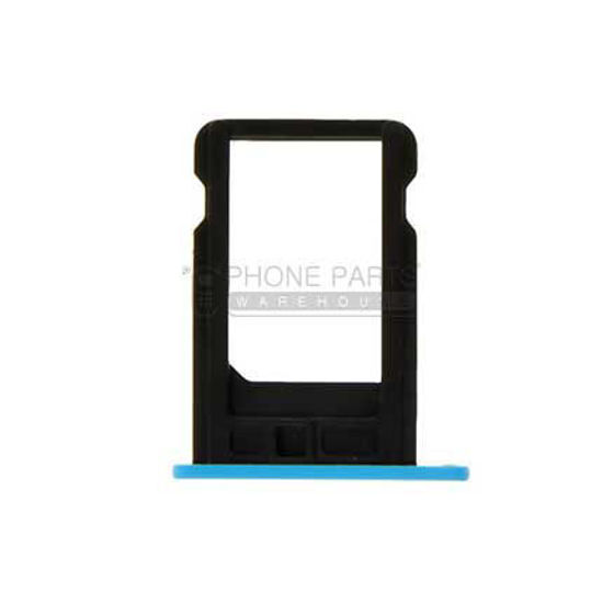 Picture of iPhone 5C Compatible Sim Card Holder Blue