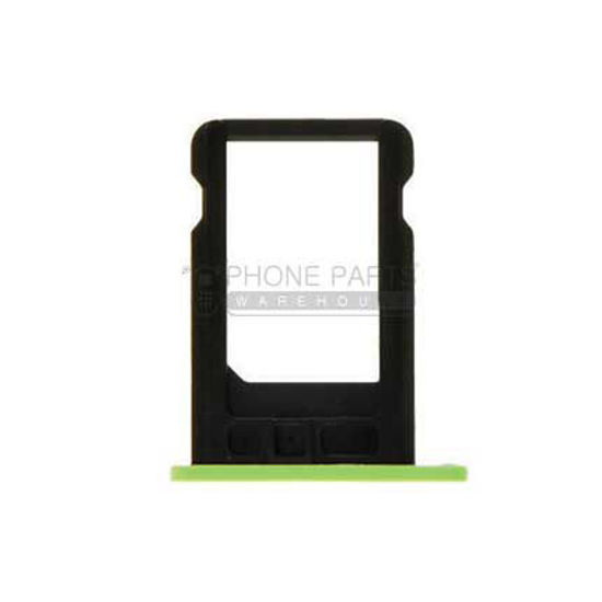 Picture of iPhone 5C Compatible Sim Card Holder Green