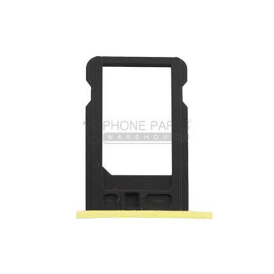 Picture of iPhone 5C Compatible Sim Card Holder Yellow