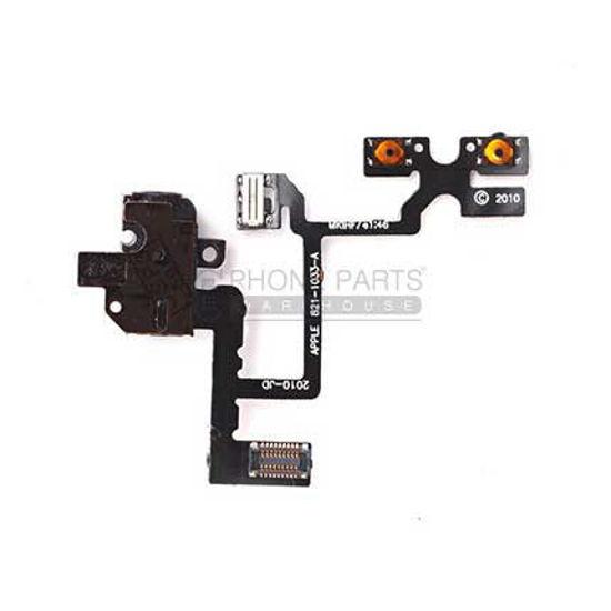 Picture of iPhone 4 Compatible Headphone Jack Flex Black