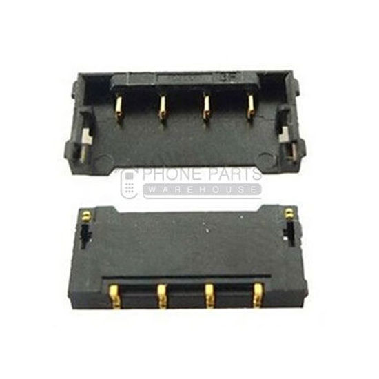 Picture of iPhone 4 battery connector on board- Replacement compatible Part set of 2