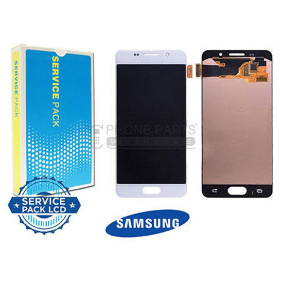 Picture of Galaxy A310 LCD Screen Digitizer Assembly Service Pack [White]