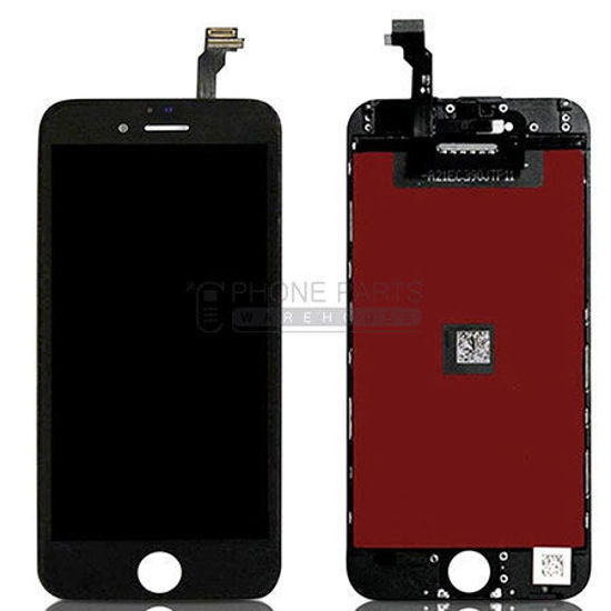 Picture of iPhone 6 Compatible LCD Screen Assembly Black [Refurbished Grade S+]