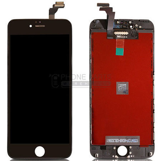 Picture of iPhone 6 Plus Compatible LCD Screen Assembly Black [Refurbished Grade S+]