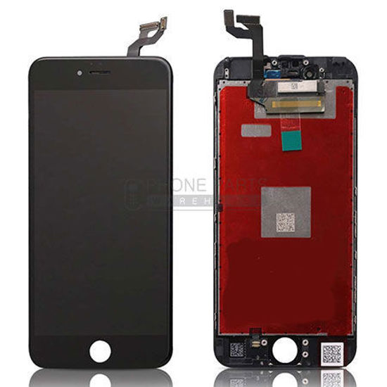 Picture of iPhone 6S Compatible LCD Screen Assembly Black [Refurbished Grade S+]