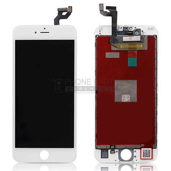 Picture of iPhone 6S Compatible LCD Screen Assembly White [Refurbished Grade S+]