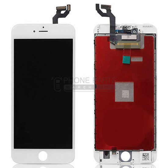 Picture of iPhone 6S Plus Compatible LCD Screen Assembly White [Refurbished Grade S+]