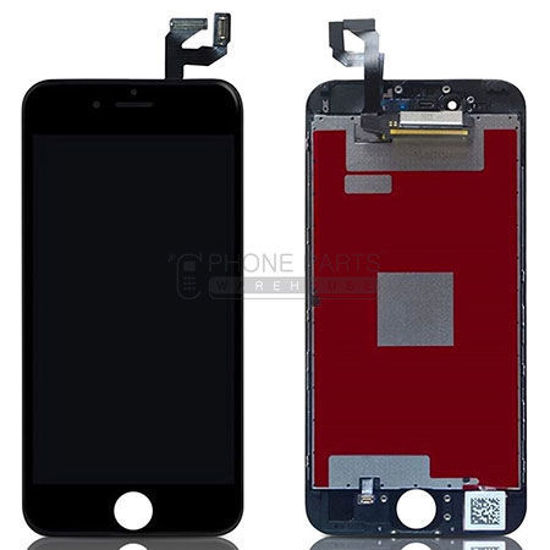 Picture of iPhone 6S Plus Compatible LCD Screen Assembly Black [Refurbished Grade S+]