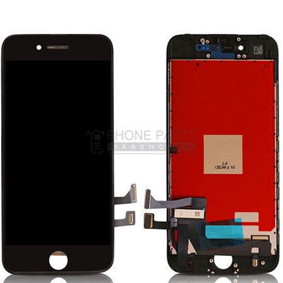 Picture of iPhone 7 Compatible LCD Screen Assembly Black [Refurbished Grade S+]