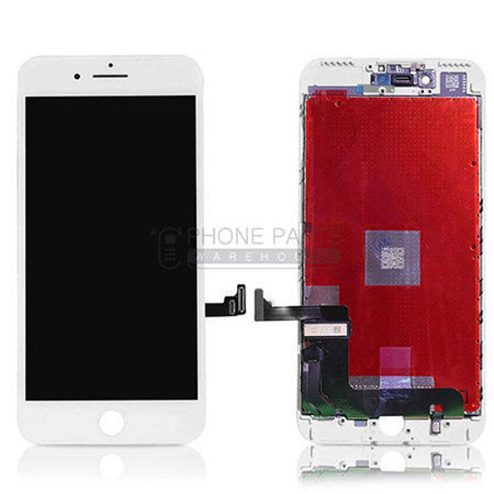 Picture of iPhone 7 Plus Compatible LCD Screen Assembly White [Refurbished Grade S+]