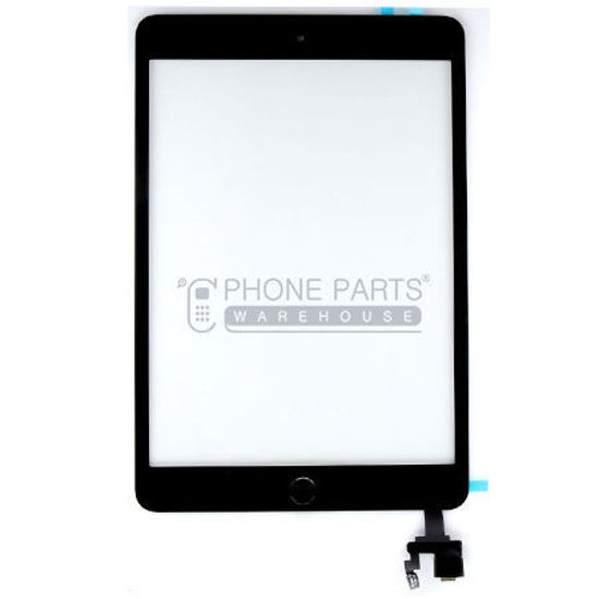 Picture of iPad Mini 3 Super High  Quality Touch Screen Digitizer Glass and Adhesive in Black