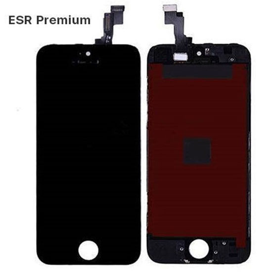 Picture of iPhone 5S/SE Compatible LCD Screen Assembly with Touch and Frame [ESR Premium][Black]