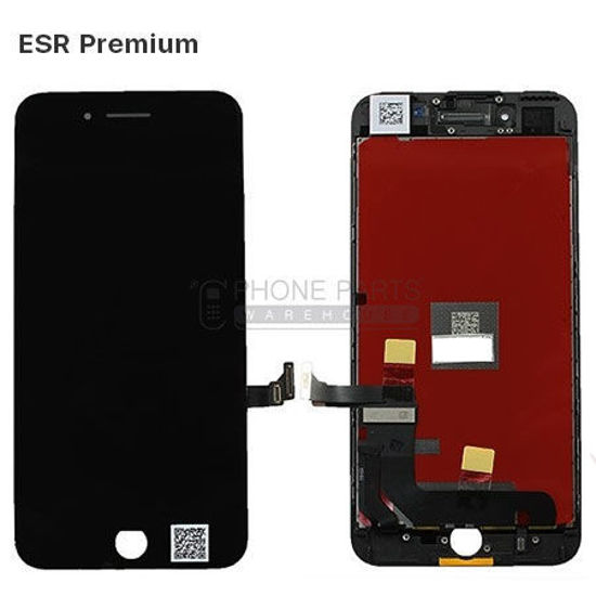 Picture of iPhone 7 Plus Compatible LCD Screen Assembly with Touch and Frame [ESR Premium][Black]