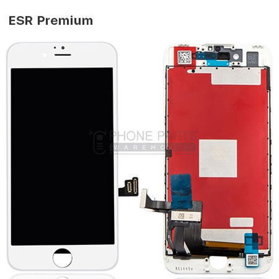 Picture of iPhone 7 Plus Compatible LCD Screen Assembly with Touch and Frame [ESR Premium][White]