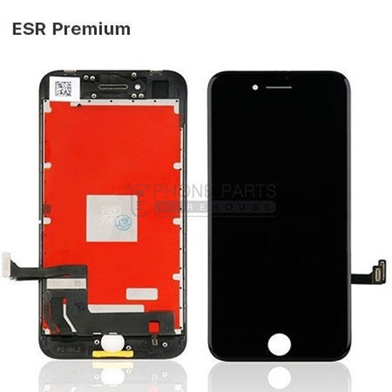 Picture of iPhone 8/SE 2020 Compatible LCD Screen Assembly with Touch and Frame [ESR Premium][Black]