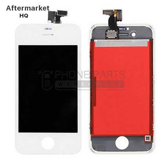 Picture of iPhone 4SCompatible LCD Screen Assembly Aftermarket High Quality White