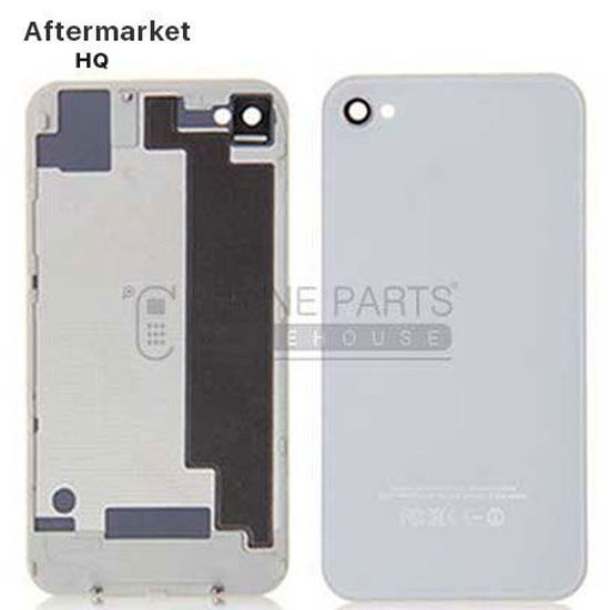Picture of iPhone 4s Compatible Back Cover Assembly Aftermarket White