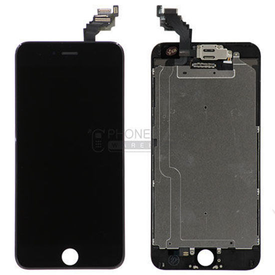 Picture of iphone 6  Plus Genuine LCD Screen with Parts  [Grade-A Tested Parts Come From 14 Days Used Phone] Black