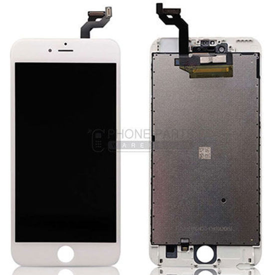 Picture of iPhone 6 Plus Genuine LCD Screen with Parts  [Grade-A Tested Parts Come From 14 Days Used Phone] White