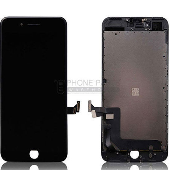 Picture of iPhone 7 Genuine LCD Screen with Parts Black [Grade-A Tested Parts Come From 14 Days Used Phone]