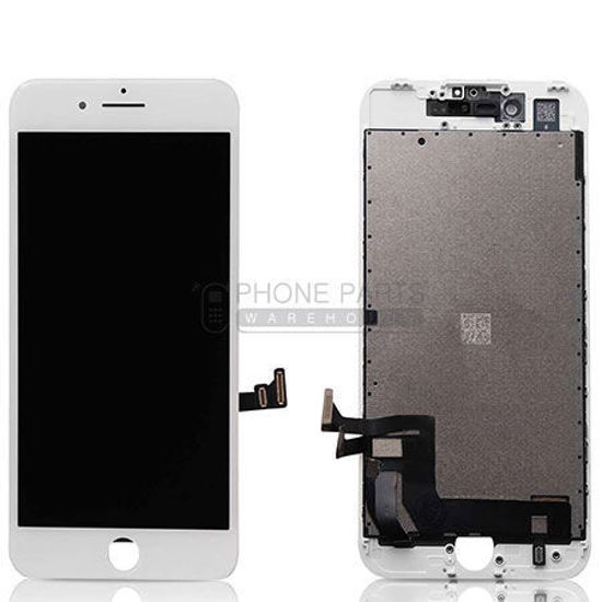 Picture of iPhone 7 Genuine LCD Screen with Parts  White [Grade-A Tested Parts Come From 14 Days Used Phone]