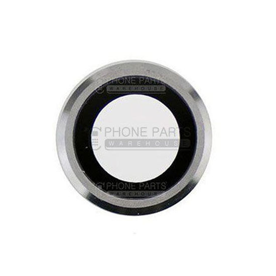 Picture of iPhone 6 Compatible Back Camera Lens with Cover Ring [White]