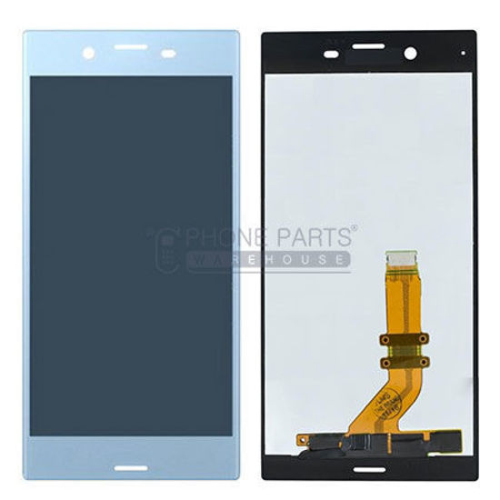 Picture of Xperia XZs Complete Lcd with Digitizer in [Light Blue] [Ori]