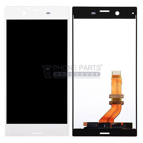 Picture of Xperia XZs Complete Lcd with Digitizer in [White] [Ori]