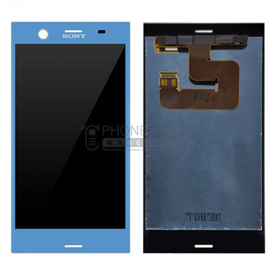 Picture of Xperia XZ1 Complete Lcd with Digitizer in [Blue] [Ori]