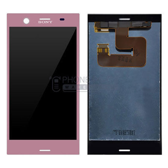 Picture of Xperia XZ1 Complete Lcd with Digitizer in [Pink] [Ori]