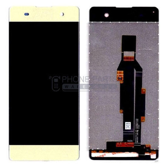 Picture of Xperia XA Complete Lcd with Digitizer in [Gold] [Ori]