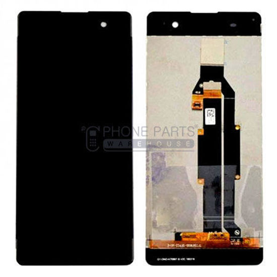 Picture of Xperia XA Complete Lcd with Digitizer in [Black / Grey] [Ori]