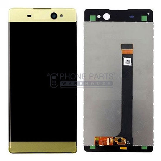 Picture of Xperia XA Ultra Complete Lcd with Digitizer in [Yellow] [Ori]