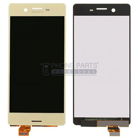 Picture of Xperia X Complete Lcd with Digitizer in [Gold] [Ori]